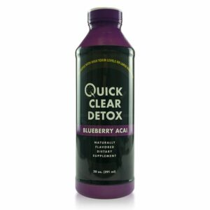 Quick Clear Detox Drink Blueberry Acai